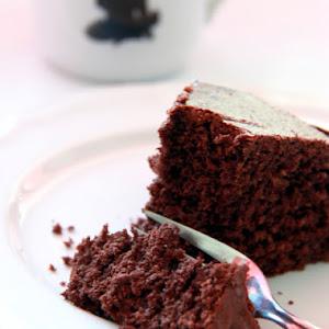 Chocolate, Coconut, and Hazelnut Cake