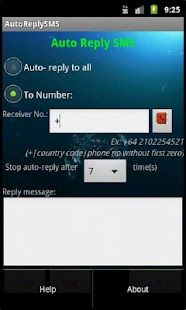 Auto Reply SMS- screenshot thumbnail