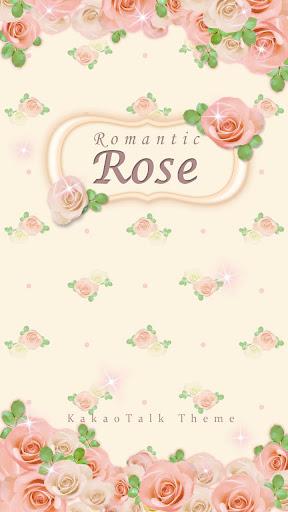 아이디자인 Rose Flower 카카오톡 테마