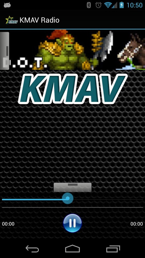 KMAV Radio - screenshot
