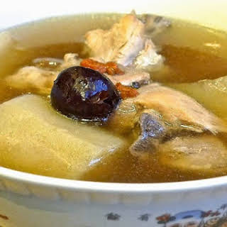Chinese White Radish Soup.