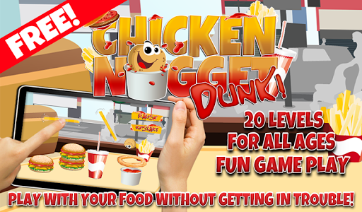 Chicken Nugget Dunk Game FREE
