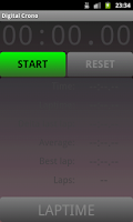 Screenshot of Digital Crono Lite