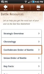 Bull Run Battle App- screenshot thumbnail