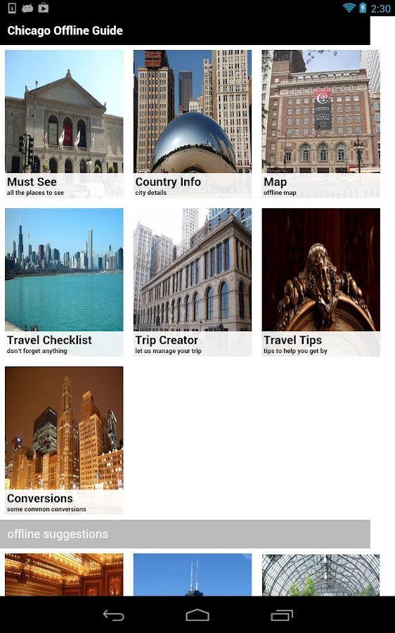 Chicago Offline - Travel Guide- screenshot