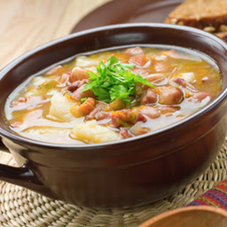 Bean soup, Siennese style
