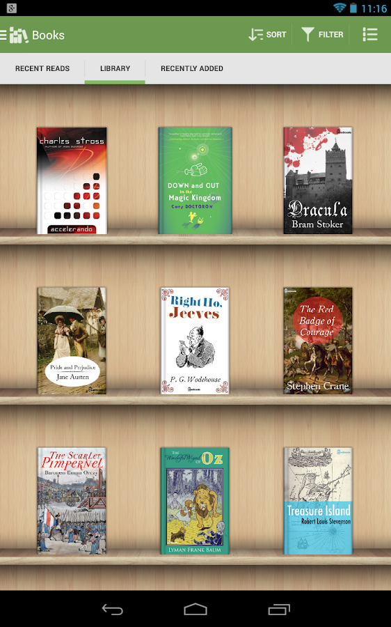 Aldiko Book Reader: screenshot