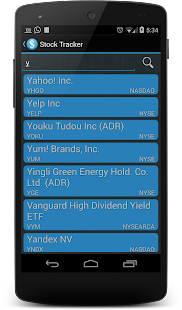 Stock Tracker- screenshot thumbnail