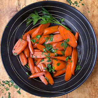 CARROTS COOKED IN WINE.