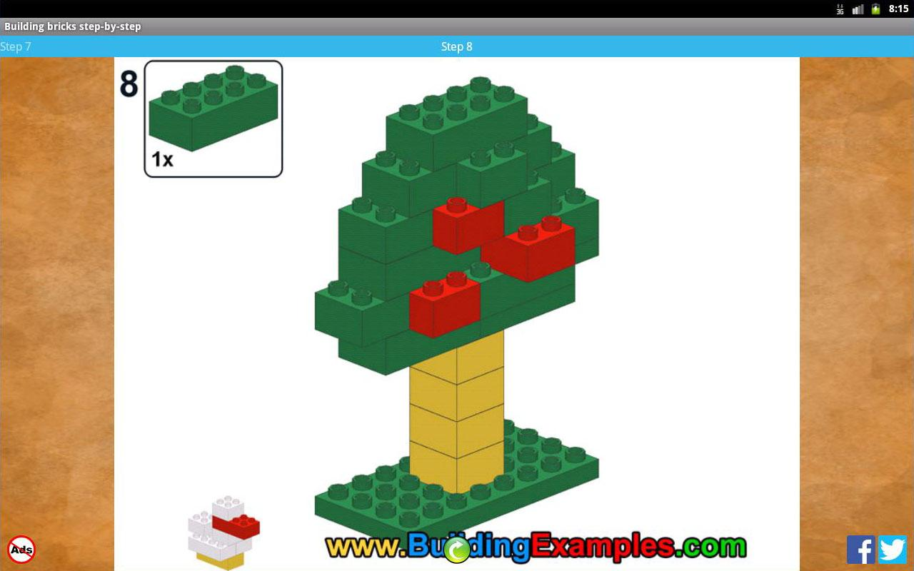 Building bricks step-by-step- screenshot