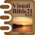 Visual Bible 21 WEB logo