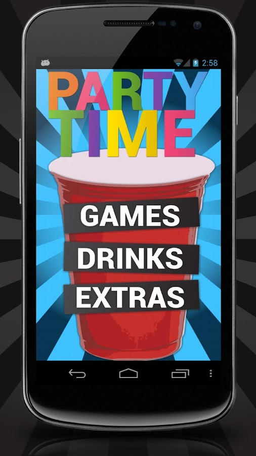 Party Time Games Drink Recipes - screenshot