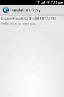 Screenshot of Talking Translator Pro -AdFree