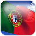 3D Portugal flag LWP logo