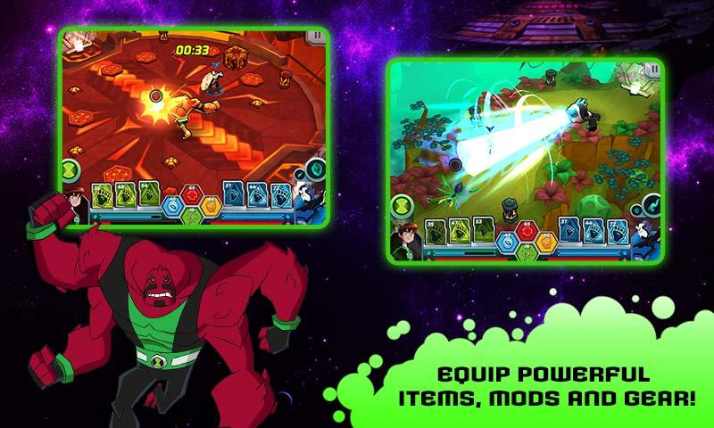 Wrath of Psychobos - Ben 10- screenshot