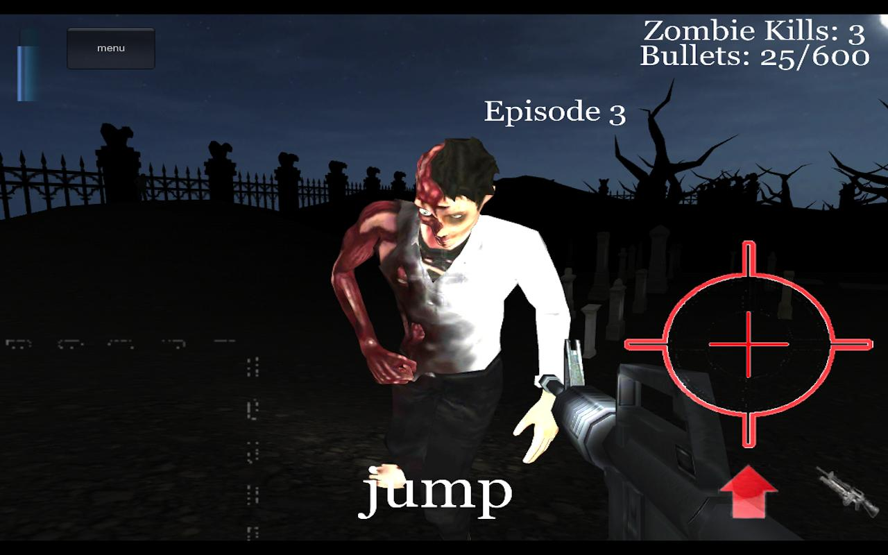 Zombie Hunter 3D- screenshot