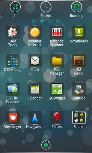Blackberry Theme GO Launcher EX v1.0