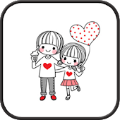 Dasom couple go launcher theme