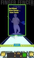 Screenshot of Finger Fencer