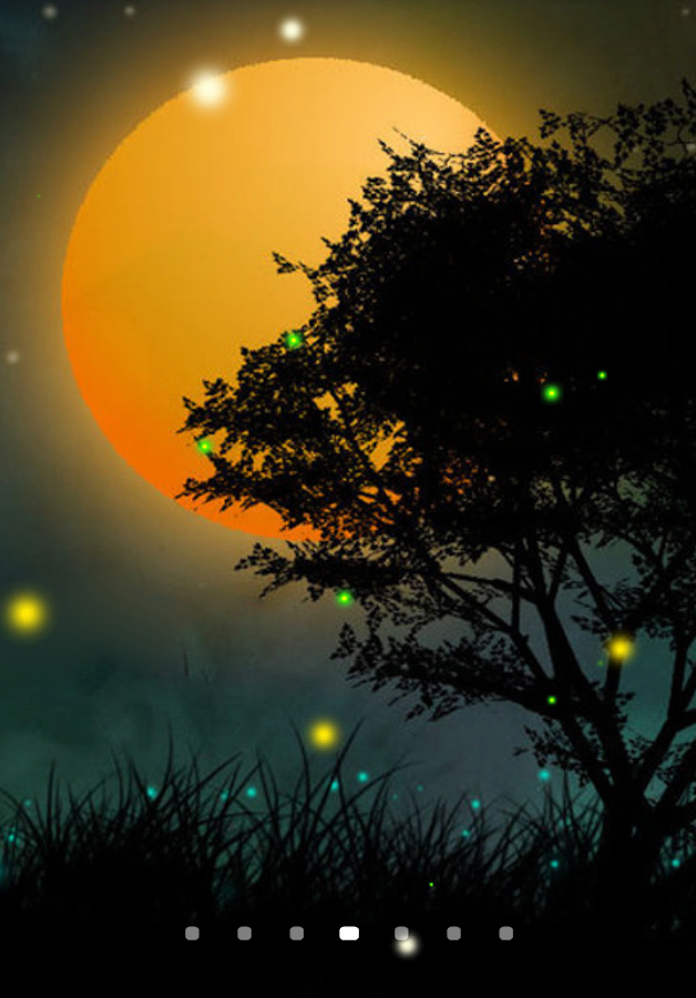 Fireflies live wallpaper android apps on google play for Android wallpaper 5 home screens