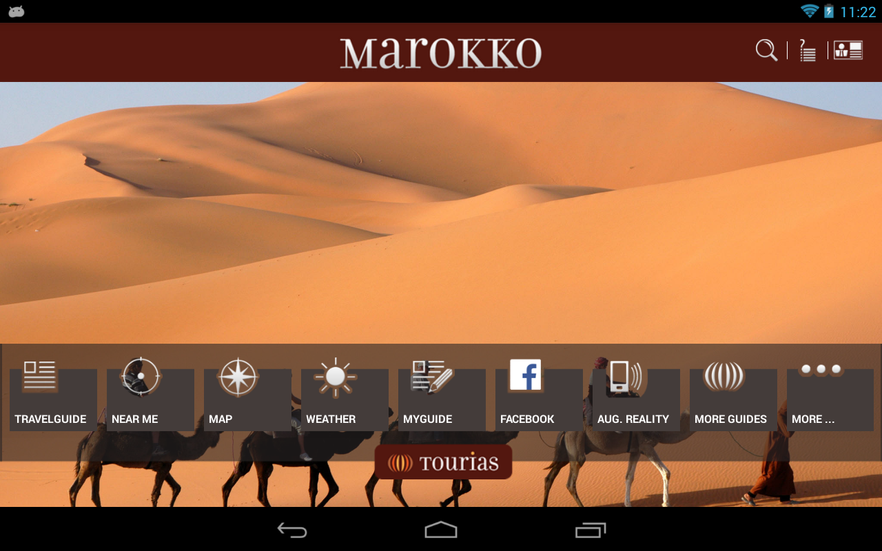 Morocco Travel Guide - Tourias - screenshot