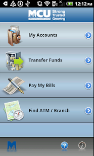 NYMCU Mobile Banking - screenshot thumbnail