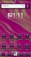 Screenshot of ADW Theme BinaryPink