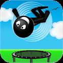 Stickman Trampoline PRO icon