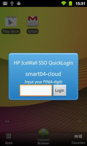 HP IceWall SSO QuickLogin