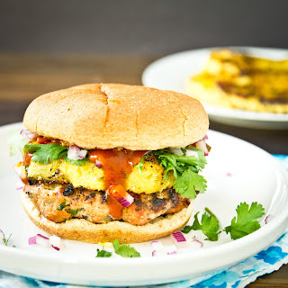 Hawaiian Turkey Burgers.
