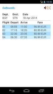 Ryan Flight Fare Watch screenshot 14