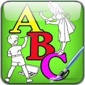 Alphabet Child ABC Color paint
