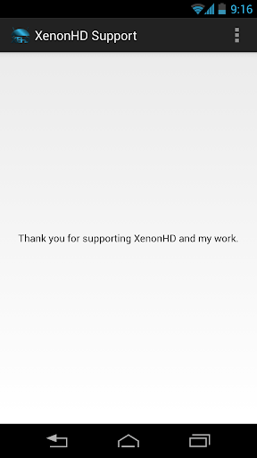Support XenonHD