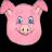 Swine flu fighter logo