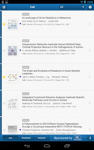 Cell Press Journal Reader - screenshot thumbnail