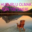 HUZURLU OLMAK İÇİN 100 ÖNERİ icon