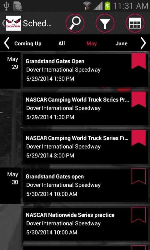 Dover International Speedway - screenshot