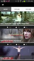 Screenshot of Taylor Swift
