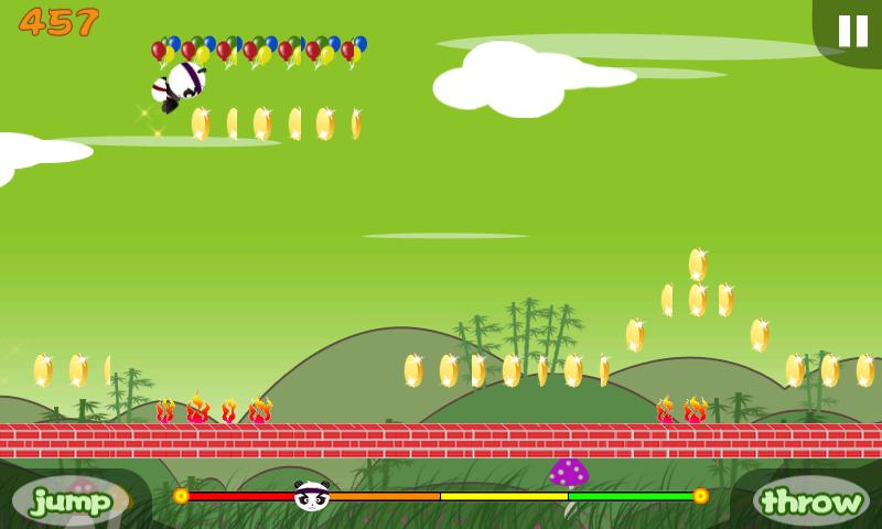 Panda Runner! - screenshot