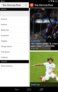 Denver Post Sports - screenshot thumbnail