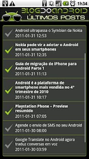 Blog do Android - screenshot thumbnail