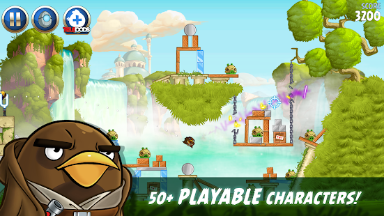 Angry Birds Star Wars II- screenshot thumbnail