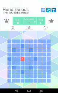 Hundredious (100 Cells Puzzle)- screenshot thumbnail