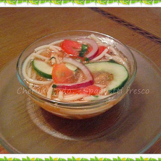 Cold Spaghetti Soup