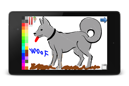 Coloring Book Dogs FREE 105 Apk Free Educational Game