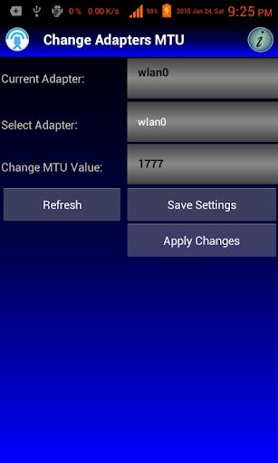 Change MTU