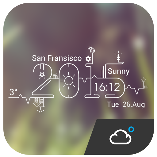 2015 New Year Weather Tomorrow 天氣 App LOGO-APP開箱王