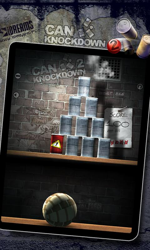 Can Knockdown 2 - screenshot