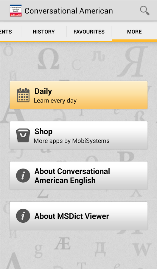 Conversational American Eng TR - screenshot