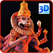 3D Narasimha Live Wallpaper